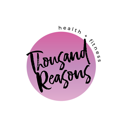 THOUSAND REASONS MAIN LOGO transparent s