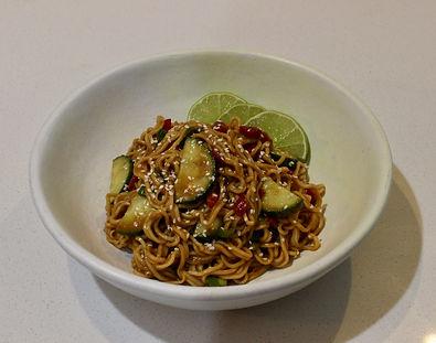 Cold Miso Noodles
