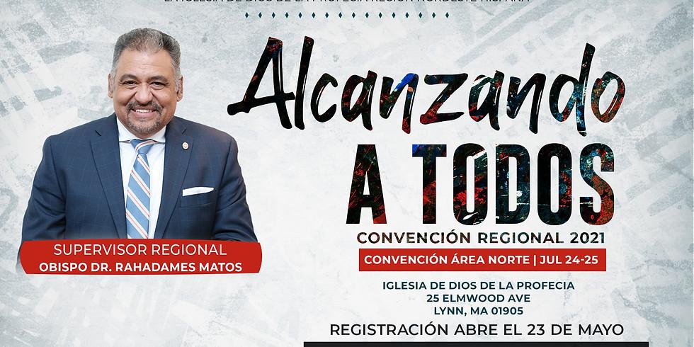 Convención Regional 2021 (Area Norte)