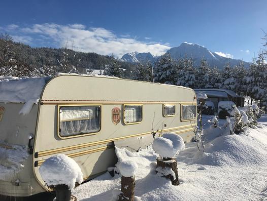 Dauercampen am Campingplatz Pyhrn Priel