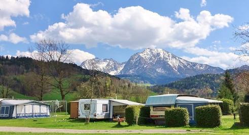 Frühling am Campingplatz Pyhrn Priel