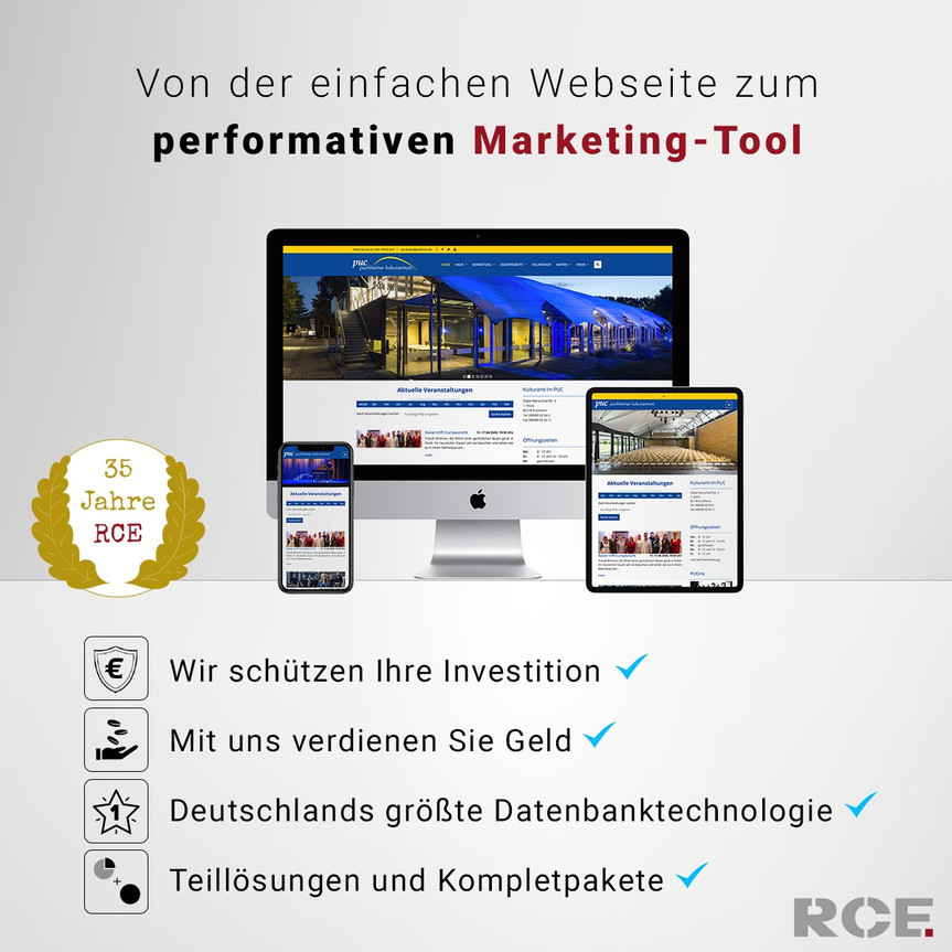Partnerangebot Fa. RCE