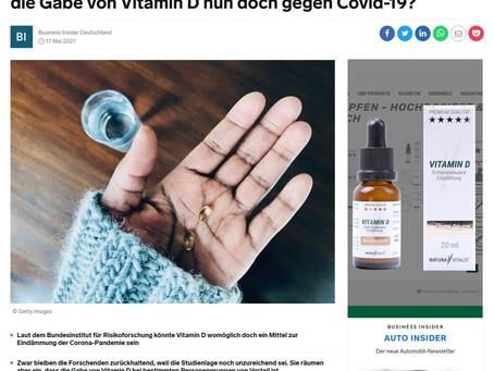 Vitamin D als Retter in der Pandemie?