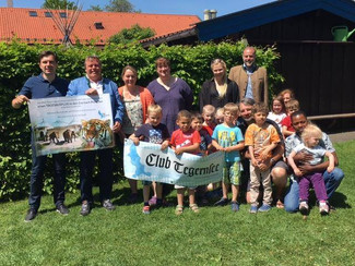 Ein Ausflug in den Tierpark für die Kinder der Villa Kunterbunt