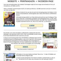 Newsletter für trimediale Vermarktung