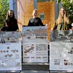 Innovative Stadtmöbel der Innenarchitekturstudenten der TH Rosenheim.