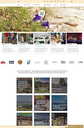 Website - Was ist los am Tegernsee