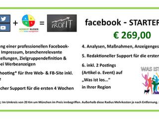 facebook STARTER-KIT € 269,90