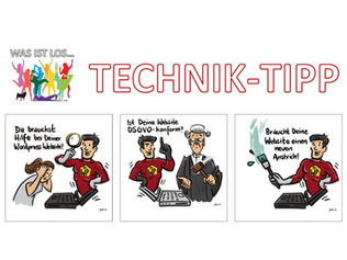 Was ist los...Technik-Tipp - Kostenloser URL-CHECK