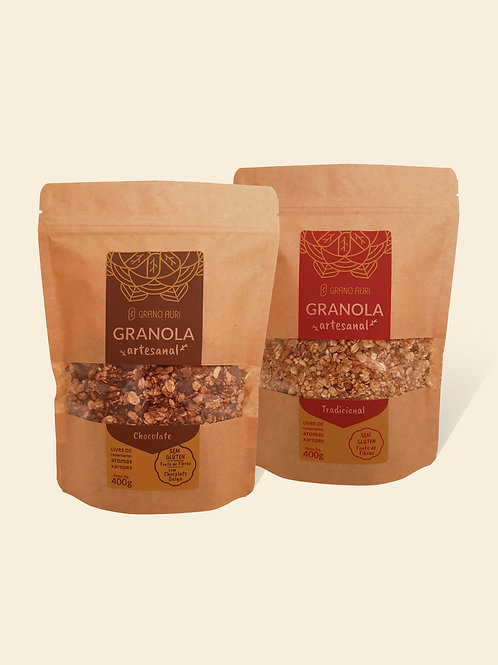 Kit Granola Tradicional +Chocolate Belga