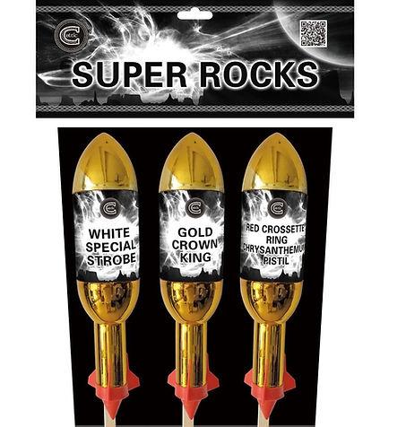 Celtic Fireworks Super Rocks