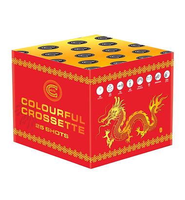 Celtic Fireworks Colourful Crossette