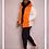 Thumbnail: Orange Puffer Coat