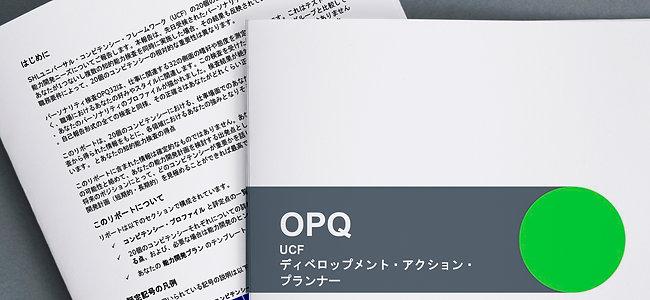 コンピテンシープロファイル+自己開発のヒントレポート