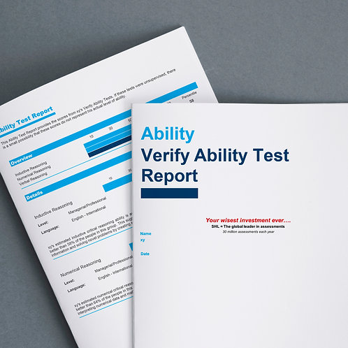 COMBO • Online competency profiling leadership + ability test + report