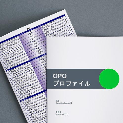 コンピテンシープロファイル (OPQ)+ ショートレポート