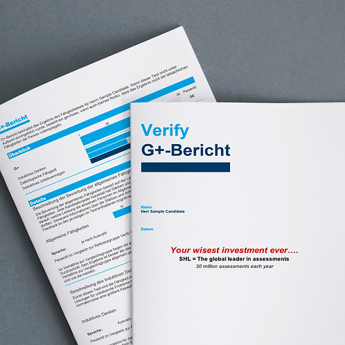 COMBO: Online Kompetenzen Profil für Verkäufer + Fähigkeitstest + Bericht
