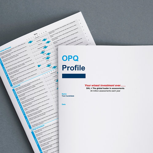 Online Competency Profiling (OPQ) + short summary