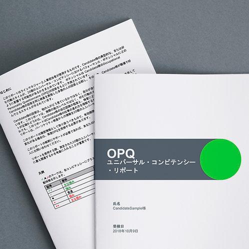 コンピテンシープロファイル+詳細なレポート