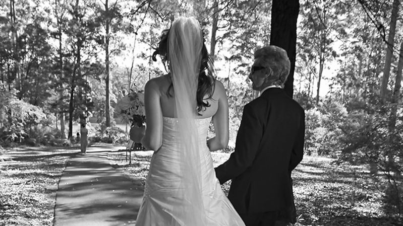 Peter Kovacsy black and white wedding photography in Pemberton Australia