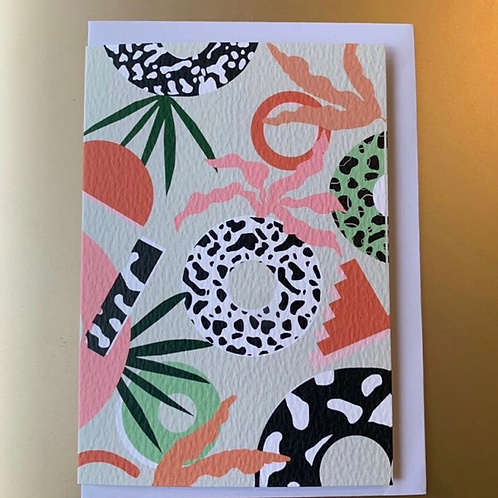 Plant Shapes Card