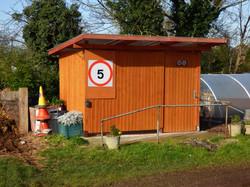 On-site eco toilet