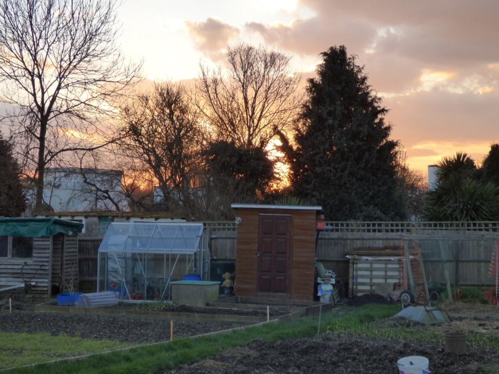 Sunset over Bexleyheath