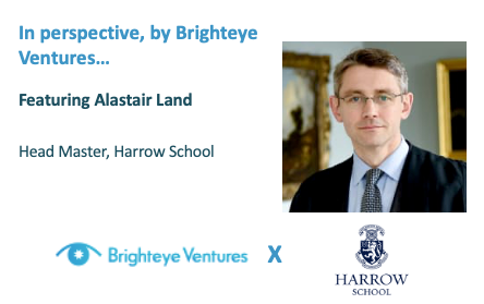 In Perspective: An interview with Harrow School's Head Master, Alastair Land