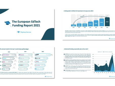 The European EdTech Funding Report 2021