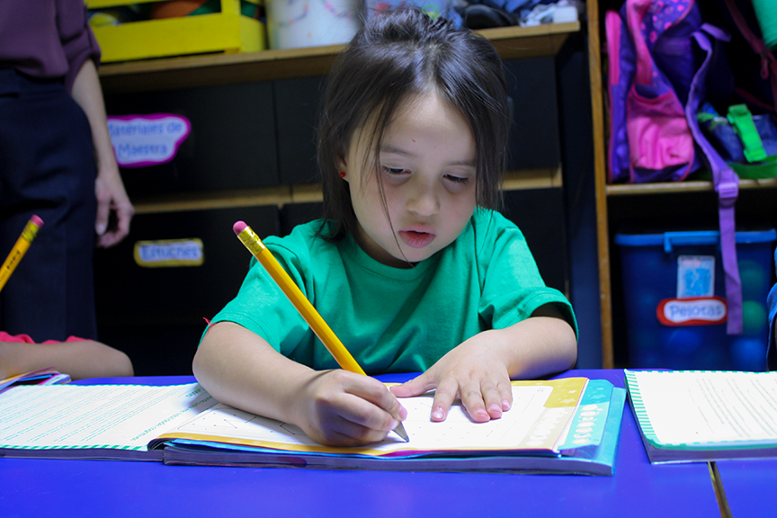 Apoyo en aprestamiento pre-escolar