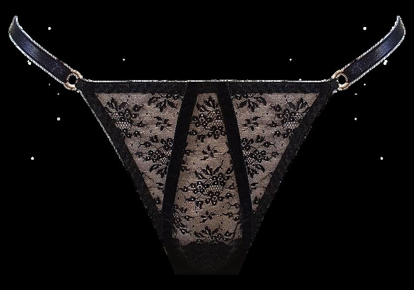 Marlene Vintage Lace Thong