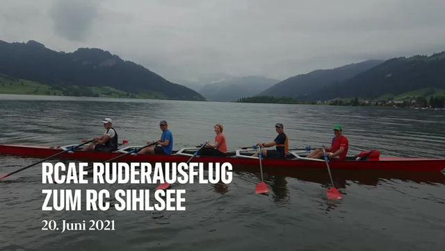 Ruderausfahrt Sihlsee
