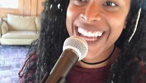 Singing at The Curb Market