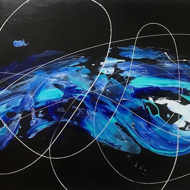 Blue in motion