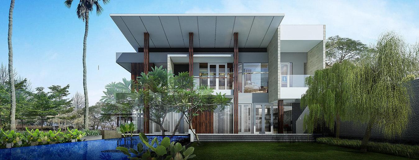 Eko House BSD Golf View
