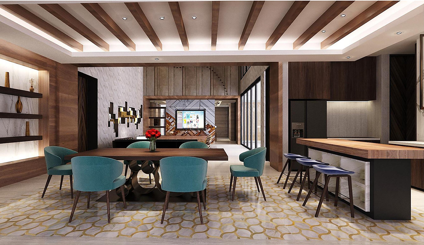 dining room edy jambi modern