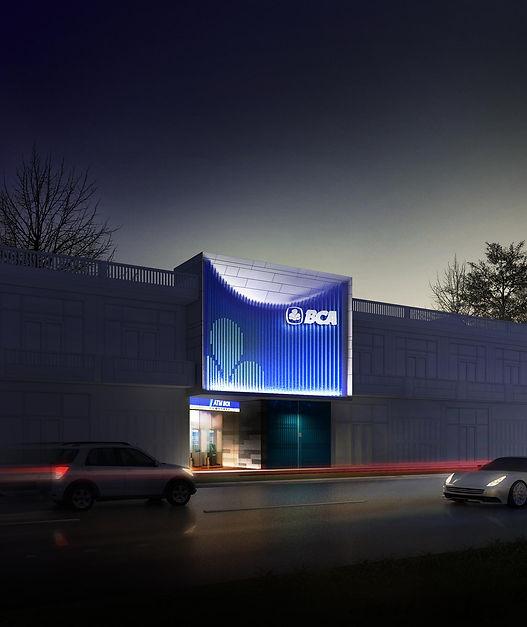 BCA Facade Ruko