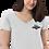 Thumbnail: Women's embroidered v-neck