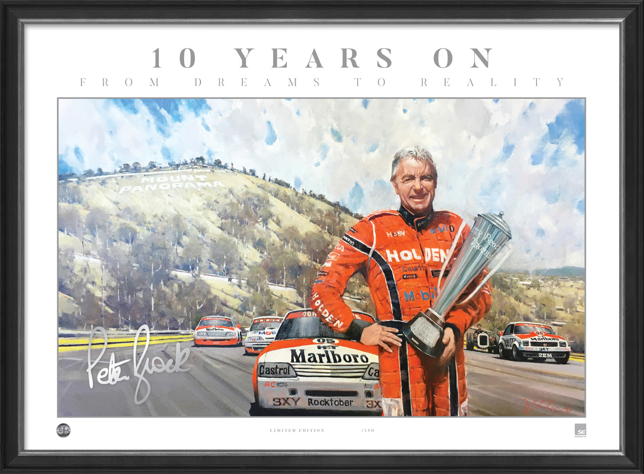 Peter Brock 10 years on