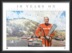 Peter Brock 10 years on