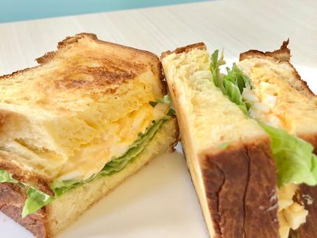 ♡新メニュー♡デニッシュパンで作る たまごandレタスのサンドイッチ