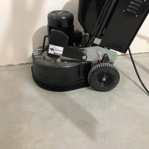 Our electric machine makes easy and very low dust