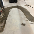 After the first grind, cracksealing makes for a nice smooth floor
