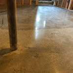 Two different types of concrete!