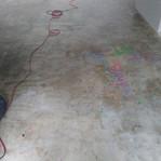 Old art studio meets our concrete grinder