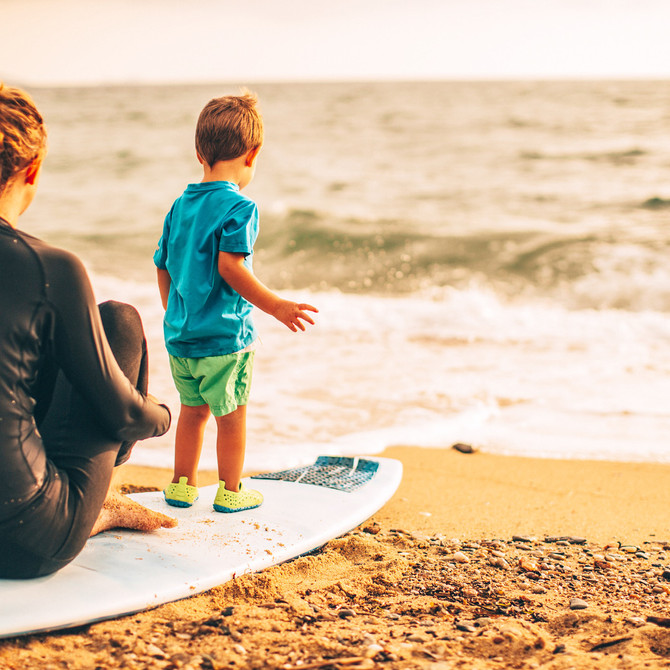 Parents often ask us what is the best age to start their child in swimming & surfing?