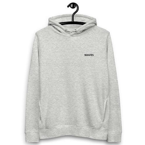 Waves pullover hoodie