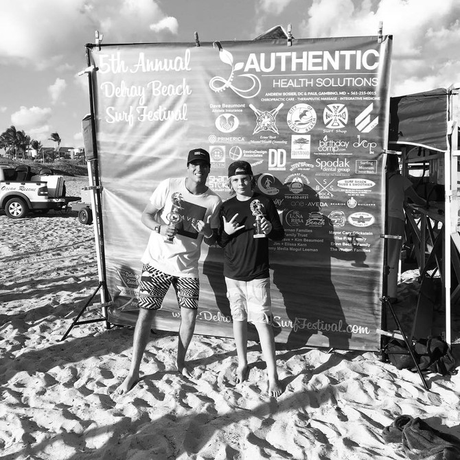 From Surf Camper to Surf Competitor