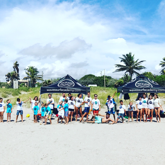 Surf Camp Saturday September 23rd