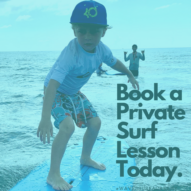 Book a Private Surf Lesson Today